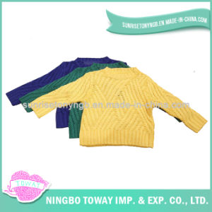 Black Toddler Boys Kids Children′s Hand Knitted Cardigans pictures & photos