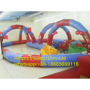 Inflatable Zorb Ball Race Track, Go Kart/Cars Air Track pictures & photos