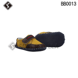 Baby Shoes Comfortable Leather Upper Infant and Toddler Shoes pictures & photos