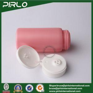 150ml 5oz Talcum Powder Bottle Pink Plastic Bottle Wide Mouth Powder Shaker Jar with Flip Top Cap Baby Skin Care Powder Bottle pictures & photos
