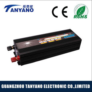 Tanyano DC12/24V to AC220V 2500W Modified Sine Wave Inverter with UPS&Charger pictures & photos