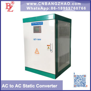 1 Phase Input to 3 Phase Output Electric Power Converter pictures & photos