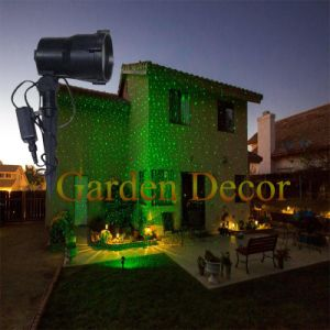 Outdoor Christmas Laser Lights Show Projector with Remote Staticstar Projection Shower for House Party Yard Garden Tree Lighting pictures & photos