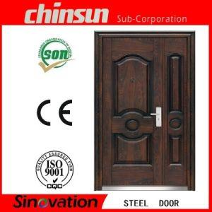 2017 New Designs Double Door Main Door Designs Double Door (SV-S105) pictures & photos