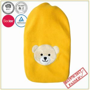 1000ml Hot Water Bottle with Animal Head Fleece Cover pictures & photos