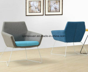 Manufacturers Selling Recreational Single Person Sofa Chair Cloth Color Matching Example Room Furniture Chair Contracted The New Conference Chair (M-X3681) pictures & photos