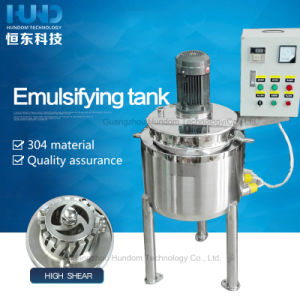 High Quality Emulsifying Mixing Tank for Shampoo pictures & photos