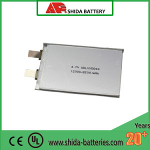 3000mAh 3.7V Lithium Battery for Consumer Electronics UL pictures & photos