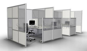 New Mobile Partition Office Fabric Acoustic Free Standing Panel (SZ-WS693) pictures & photos