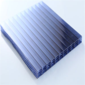 High Quality Four Walls Hollow Polycarbonate Sheet pictures & photos