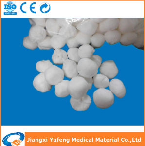 OEM Cotton Gauze Ball with High Absorbency for Medical Use pictures & photos