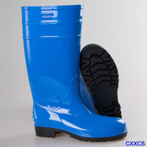 Safety Shoes High Quality Rain Boots Building Site Protection Boots pictures & photos