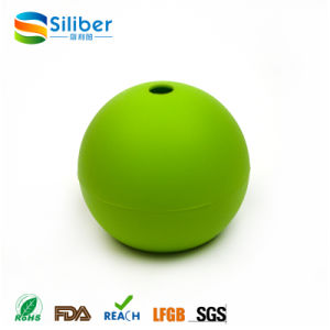 Silicone Round Ice Ball Sphere Maker Molds Approved by FDA pictures & photos