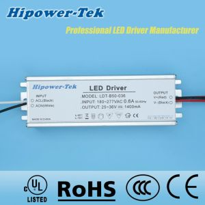 180-277VAC 50W Constant Current Traic Dimming Power Supply LED Driver pictures & photos