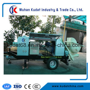 Concrete Pump with Slide Valve Pump HBT30 pictures & photos