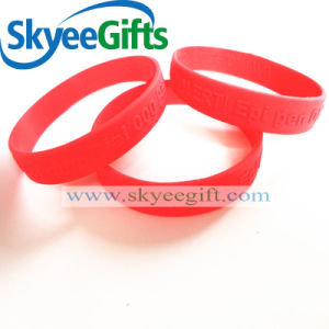 Fashion Custom Logo/Color Silicone Bracelet pictures & photos