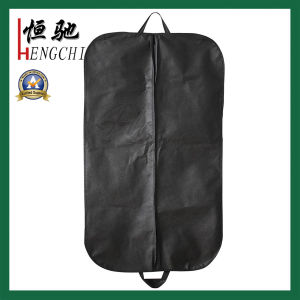 Household Storage Non Woven Suit Bag with Two Handles pictures & photos