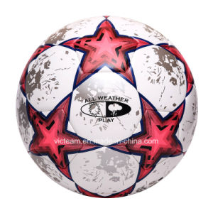 Unmatched Official Size 5 Polyurethane Soccer Ball pictures & photos
