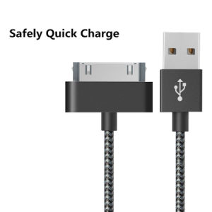 30 Pin to USB 3.3FT Data Transfer Charging Cable for iPhone 4 pictures & photos