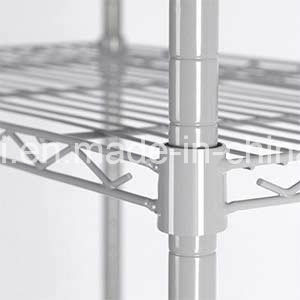 5 Tier Wire Storage Rack Organization Shelving Unit with Adjustable Leveling Feet, Silver Grey pictures & photos