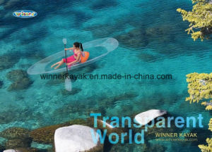 Double or Single Seaters Transparent Boat for Seabeach pictures & photos