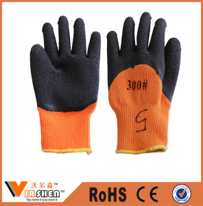 Industrial Work Safety Latex Coated Cotton Gloves pictures & photos
