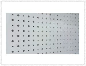 Acoustic Perforated Gypsum Board for Ceiling and Wall pictures & photos