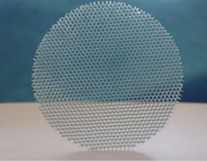 Pure Transparent PC Honeycomb for Window Glass pictures & photos