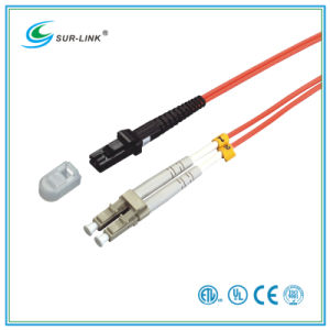 MTRJ/PC-LC/PC mm 62.5/125 Duplex with Clip 2m Fo Patch Cord pictures & photos
