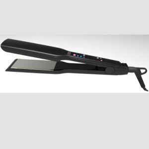 LCD Negative Ion Brazilian Tourmaline Titanium Hair Straightener Flat Iron pictures & photos