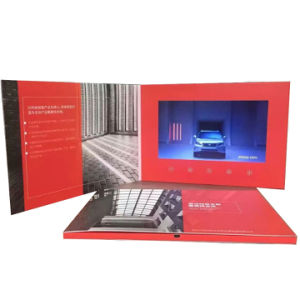 Custom 7inch LCD Video Brochure Card pictures & photos