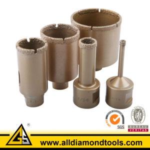 Professional Grade Vacuum Brazed Diamond Core Drill Bit for Tile Marble Glass pictures & photos