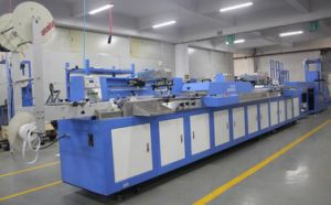 Polyester Ribbons/Satin Label Automatic Screen Printing Machine for Sale pictures & photos