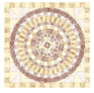 Flower Pattern Carpet Tile Polished Crystal Ceramic Floor Tile 1200X1200mm (BMP48) pictures & photos