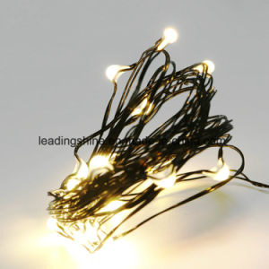Cr2032 Battery Pack Dimmable Starry String Lights Black Wire Invisible Copper String Fairy Light Warm White Pure White Customized pictures & photos