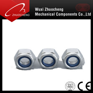 Zinc Plated Carbon Steel Nylock Nut pictures & photos