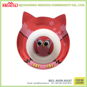 Popular Among Kids Food Grade Plastic Melamine Dinnerware pictures & photos