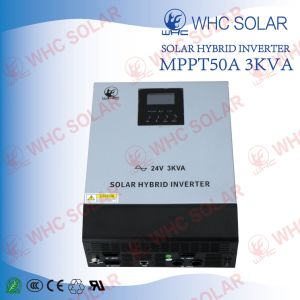 3kVA (2400W) Hybrid Solar Power Inverter with Charge Controller pictures & photos