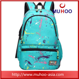 Printed High School Travel Sports Backpacks School Bag for Outdoor pictures & photos