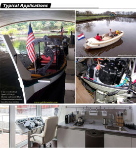 3HP Electric Boat Motor, Electric Propulsion Outboards pictures & photos
