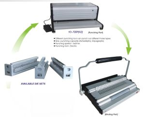 Multi-Function Binding Machine of A3 Punching pictures & photos