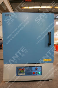 1300c Box Type Ceramic Fiber Muffle Furnace for Laboratory Heating Equipment pictures & photos