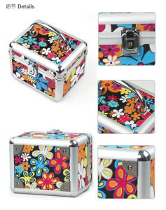 Colorful Aluminum Carry on Toiletry Case pictures & photos