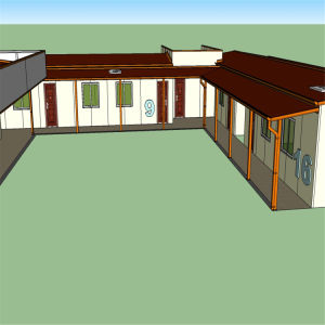 Structural Steel Prefabricated Modular House pictures & photos