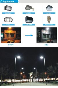 360 Degree High Power and High Brightness LED Road Light pictures & photos