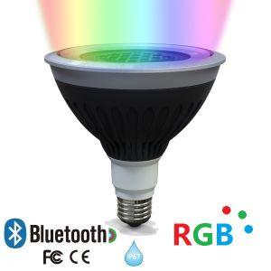 ETL 120V/230V LED Bluetooth RGB PAR38 IP67 Outdoor Landscape Spotlight pictures & photos