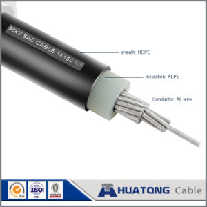 25 Kv Sac Cable Al/XLPE HDPE Cable pictures & photos