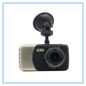 Two Camera Lens 4.0 Inch Auto Dash Cam Video Recorder Car DVR pictures & photos