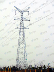 Hot-DIP Galvanized Steel Power Transmission Tower