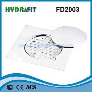 Stainless Steel Shower Floor Drain / Floor Drainer (FD2003) pictures & photos